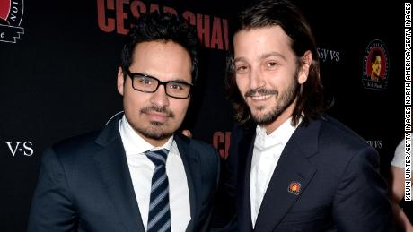 "Michael Peña and  Diego Luna are set to star in Season 4 of ""Narcos."""