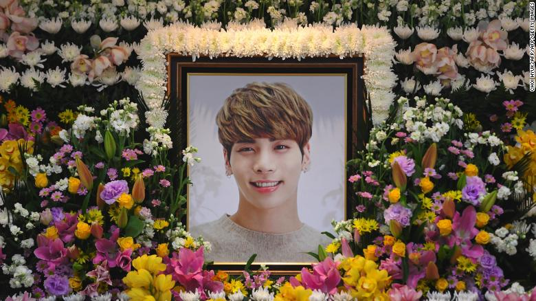 ed086c2a9cf1 Jonghyun  Fans mourn death of SHINee K-pop star - CNN