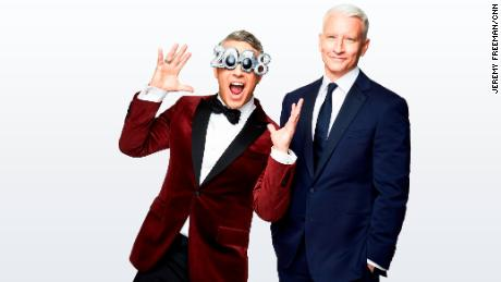 CNN NYE, Anderson Cooper, Andy Cohen