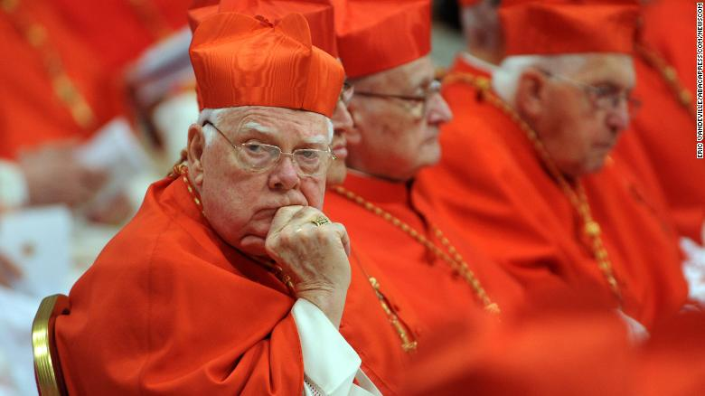 Former Archbishop Bernard Law dies at 86