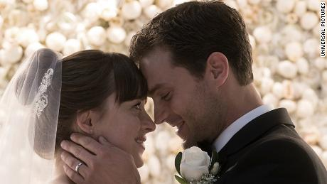 Dakota Johnson, Jamie Dornan in 'Fifty Shades Freed'