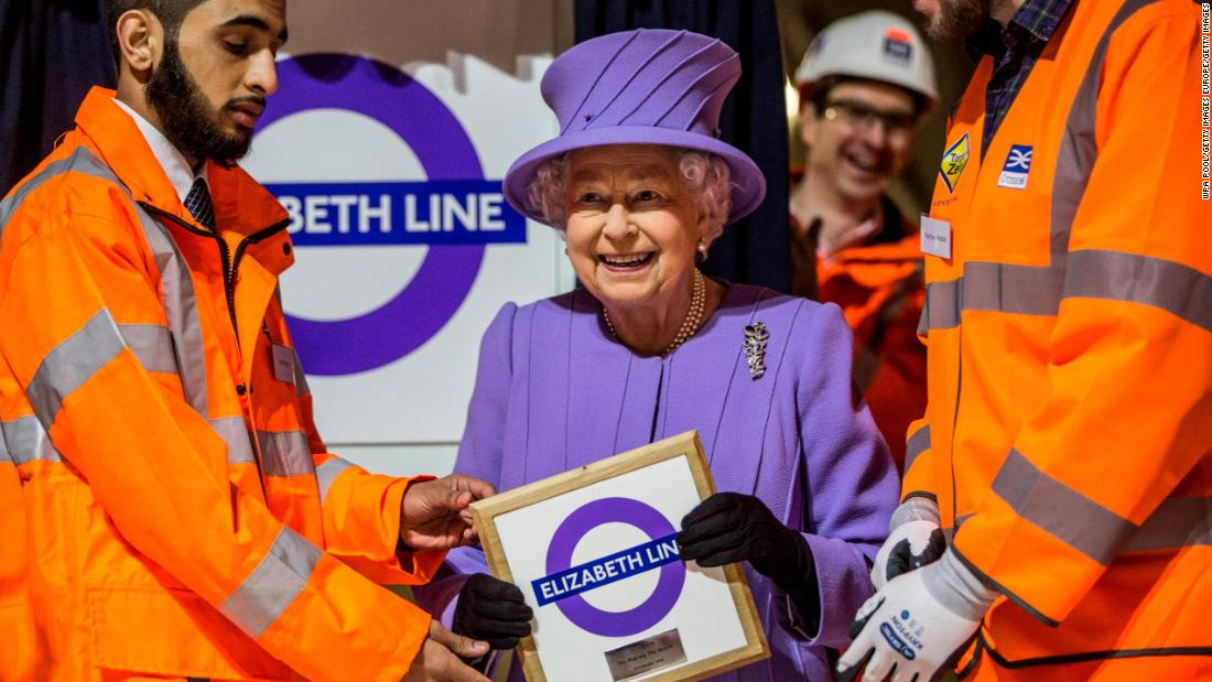 The line was named in honor of the UK's Queen Elizabeth II.