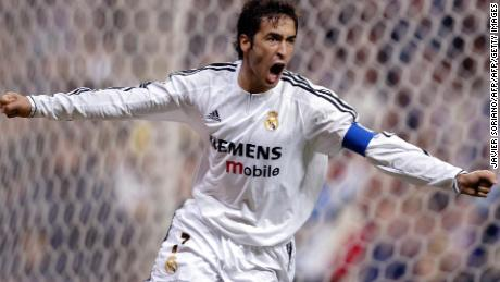 Former Real captain Raul is fourth on the list of all-time leading El Clasico scorers (15)
