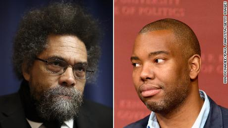 Harvard professor Cornell West has been sharply critical of author Ta-Nehisi Coates.
