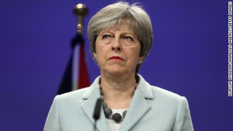 British Prime Minister Theresa May suffered a setback after calling a snap election.