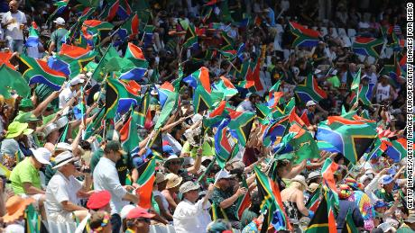 CAPE TOWN, SOUTH AFRICA - December 10: Fans at Cape Town Stadium on December 10, 2017 in Cape Town, South Africa. (Photo by Getty Images/Getty Images for HSBC)
