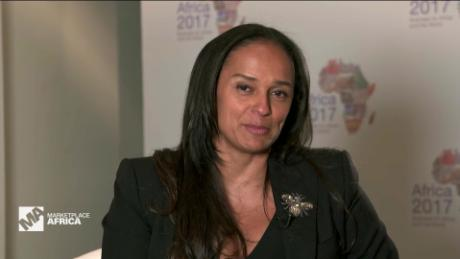 Marketplace Africa isabel dos santos africa's richest woman  A_00001522