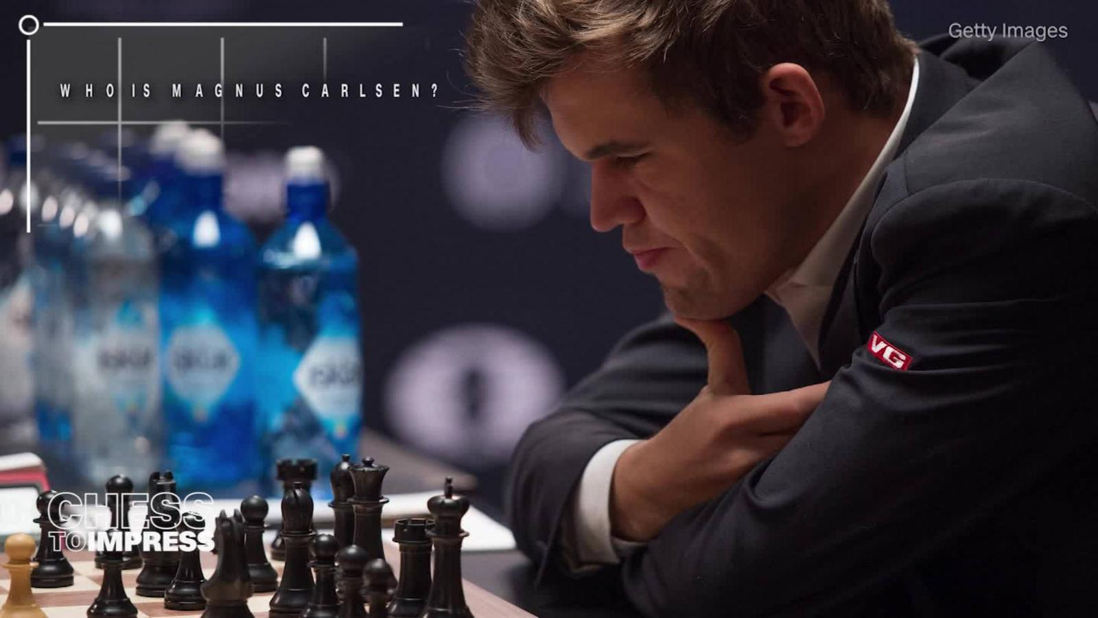 The mighty Magnus Carlsen