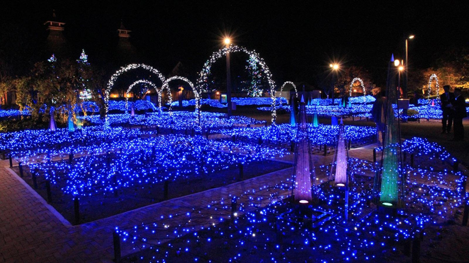 Nabana No Sato 2018 Light Show Honors Kumamoto Cnn Travel Garden Lights Without Wiring Additionally English Solar