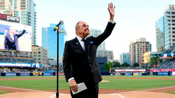 Legendary sports broadcaster Dick Enberg died on December 21. He was 82. Most recently, Enberg was the play-by-play voice of the San Diego Padres.