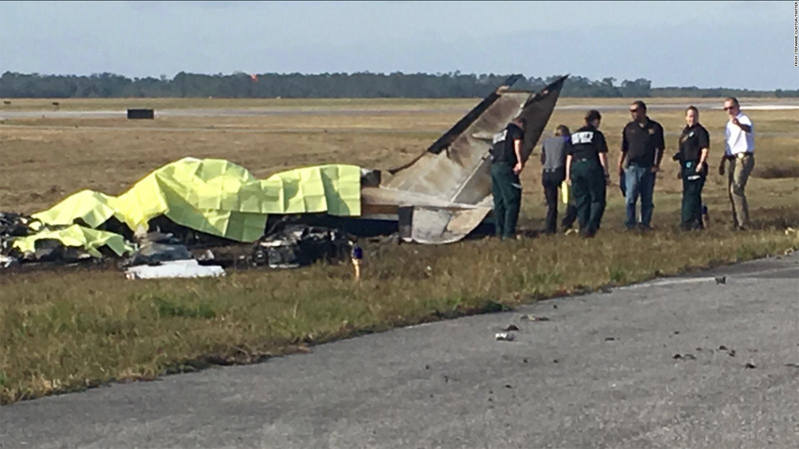 Florida plane crash a death investigation