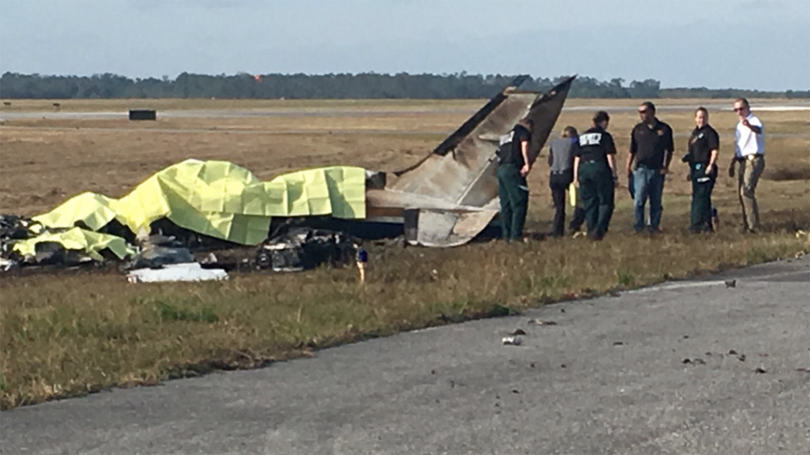 Five Killed In Christmas Eve Plane Crash In Florida