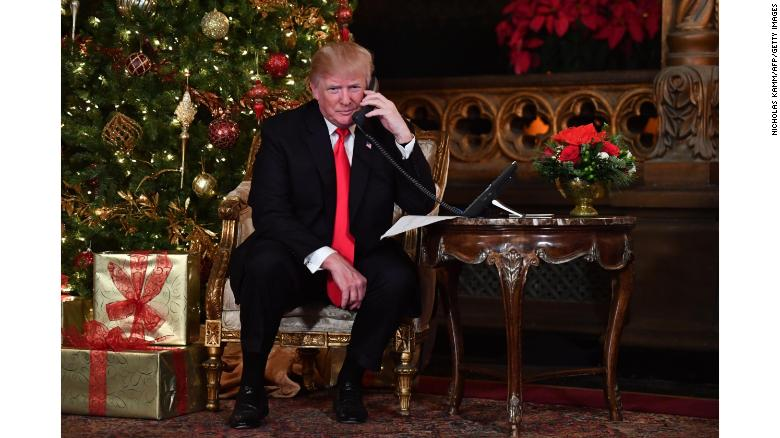 Trump Christmas: Family, friends and Twitter