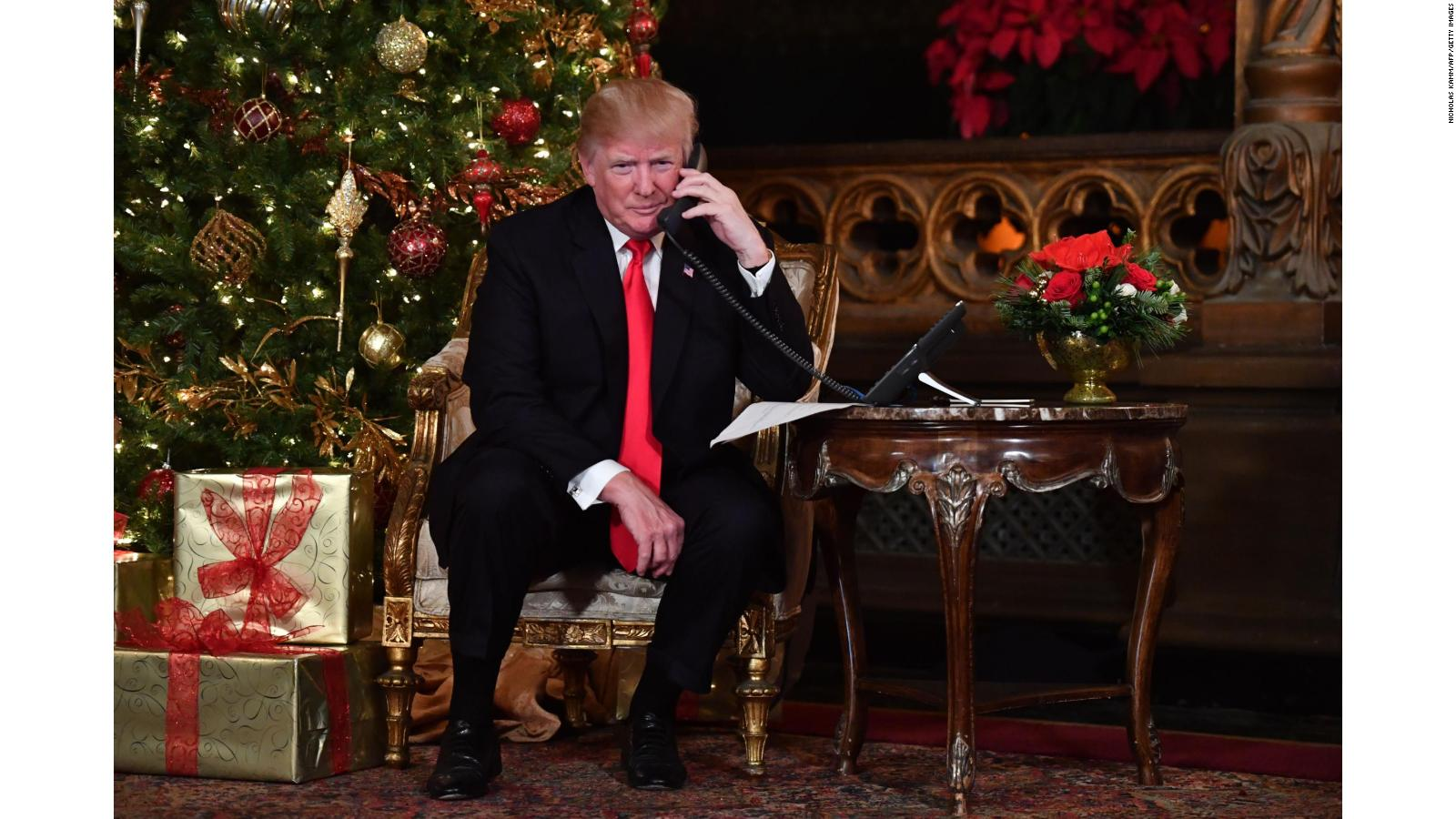 Trump celebrates Christmas surrounded by family, friends -- and ...