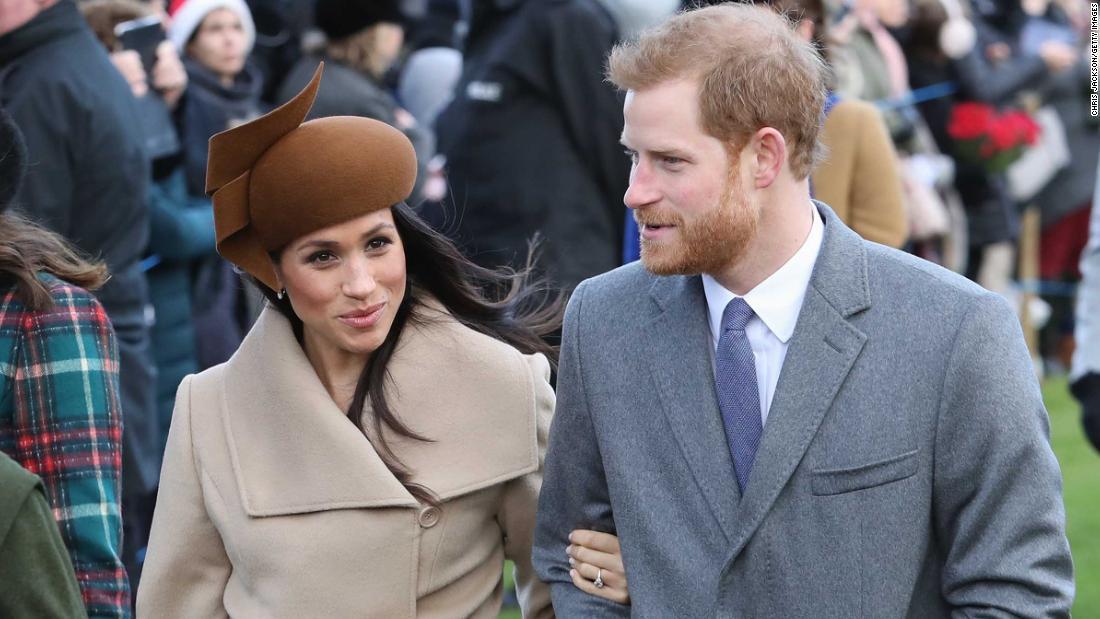Meghan Markle Images >> Meghan Markle and Prince Harry join royal family at Sandringham - CNN