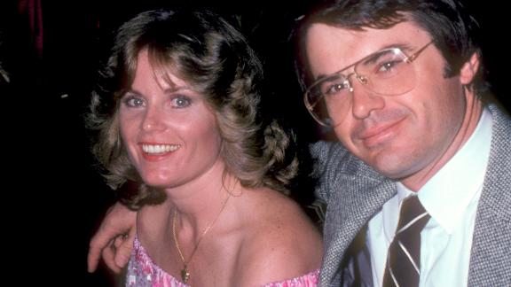 Heather Menzies Urich and husband Robert Urich in 1981.