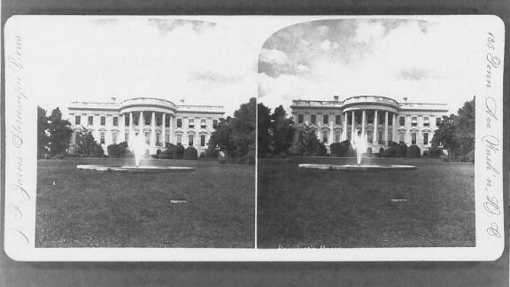 The White House South Lawn, 1878.