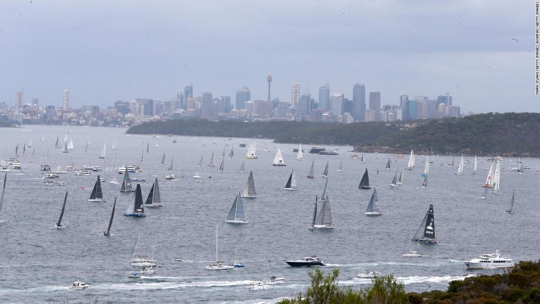 Tuesday saw the start of the annual Sydney-Hobart Yacht Race, Australia's annual sailing spectacular. More than 100 boats made their way along the New South Wales coast towards Tasmania.