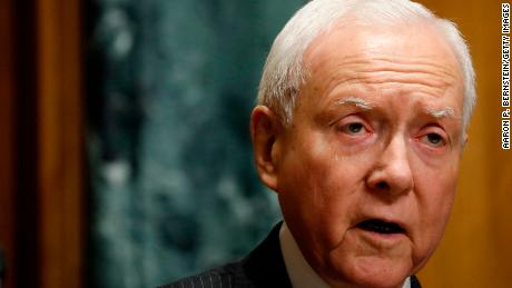 Hatch says it's 'ridiculous' for McCain to block Trump from funeral