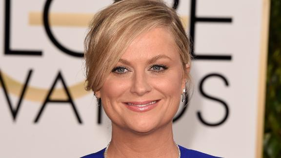 Actress Amy Poehler attends the 72nd Annual Golden Globe Awards at The Beverly Hilton Hotel on January 11, 2015 in Beverly Hills, California.
