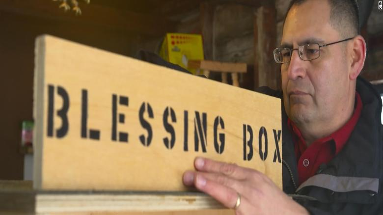 One man's food pantry idea inspires a town