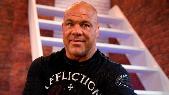 Wrestler and actor Kurt Angle blows out 50 candles on December 9.
