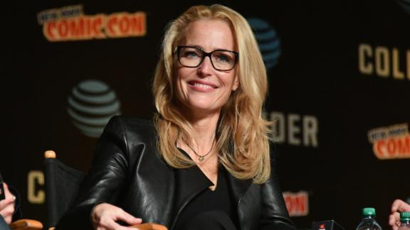 """The truth is out there: """"The X-Files"""" star Gillian Anderson turned 50 on August 9."""