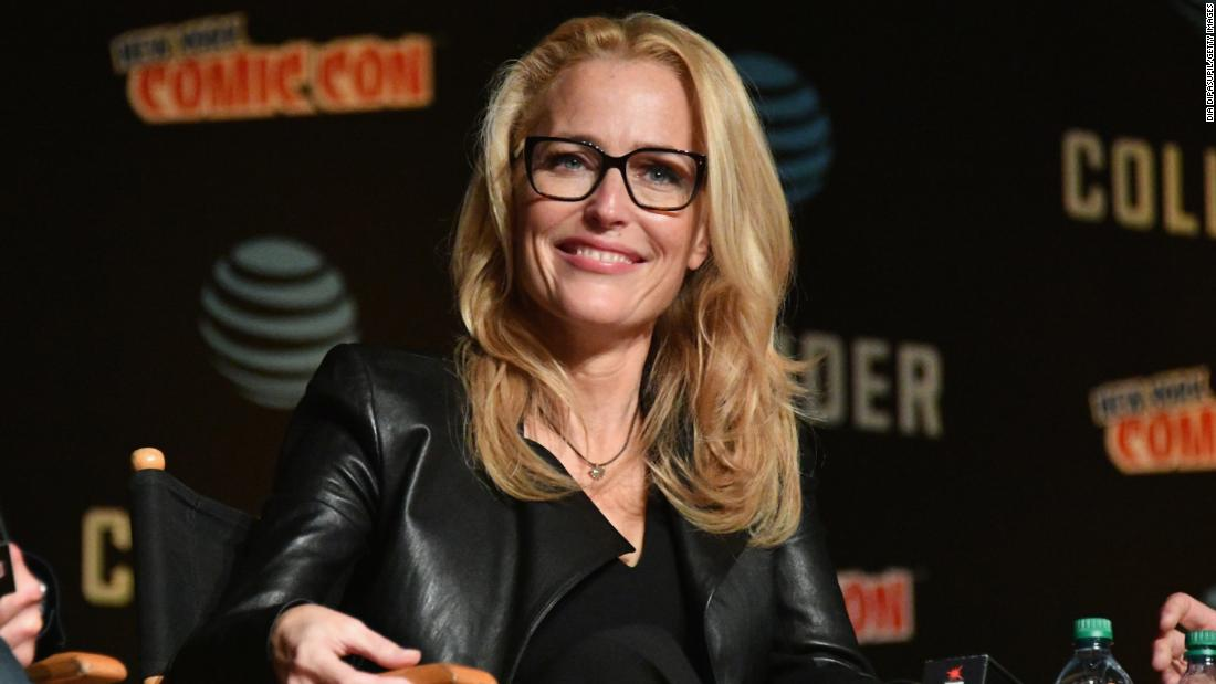 "The truth is out there: ""The X-Files"" star Gillian Anderson turns 50 on August 9."