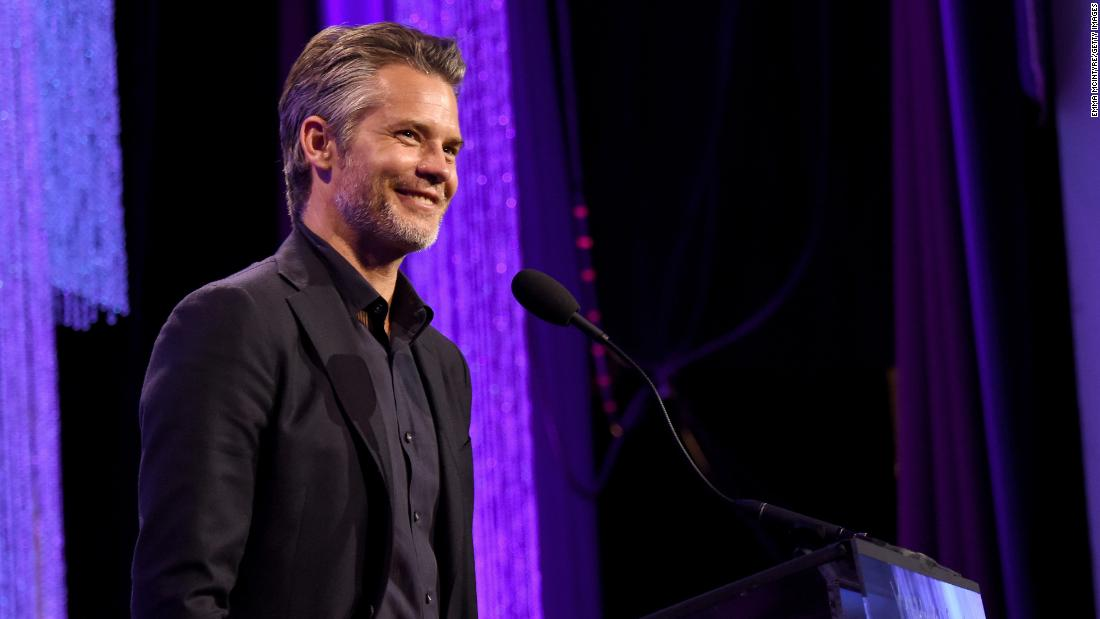 Actor Timothy Olyphant leaves his forties on May 20.