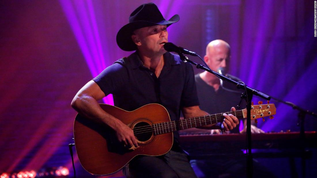 Country star Kenny Chesney can sing his own birthday wishes on March 26.