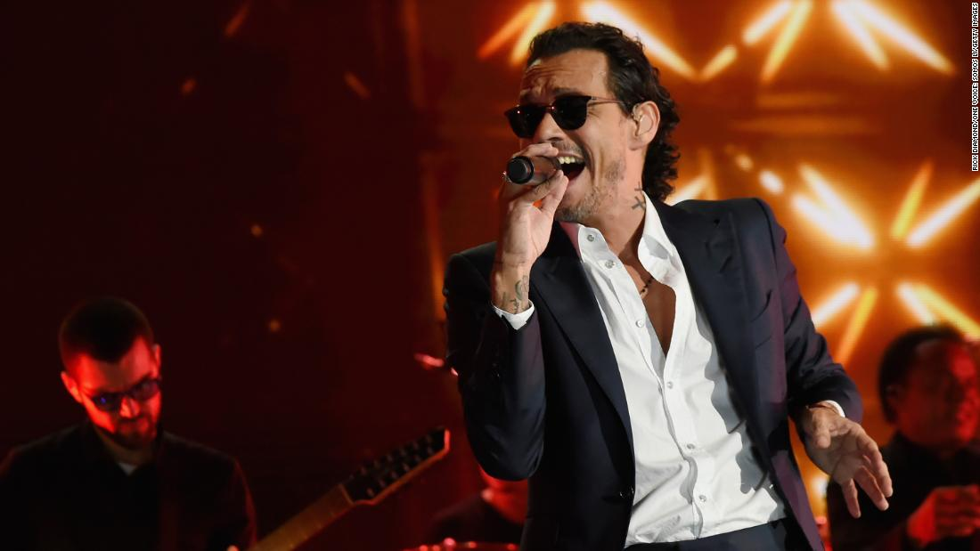 Singer, actor Marc Anthony hits fifty on September 16.