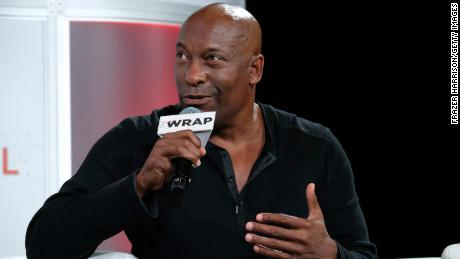 BEVERLY HILLS, CA - OCTOBER 02:  Writer/Director/Producer, John Singleton speaks onstage at TheWrap's 8th Annual TheGrill at Montage Beverly Hills on October 2, 2017 in Beverly Hills, California.  (Photo by Frazer Harrison/Getty Images)
