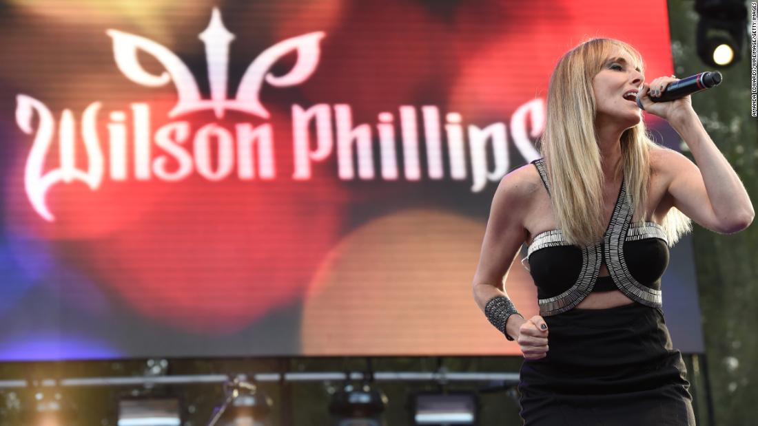 Hold on for one more day if it's February 12 because that's when Wilson Phillips singer Chynna Phillips will turn 50.