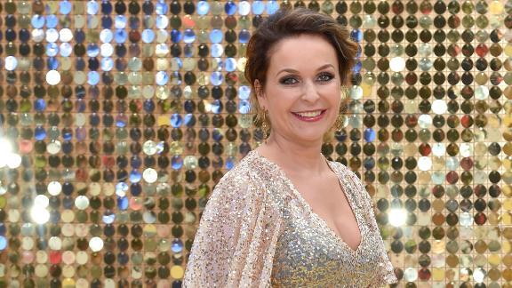 """We suspect it was an """"Absolutely Fabulous"""" birthday for Julia Sawalha on September 9."""