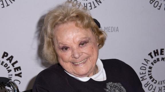 Actress Rose Marie in 2013 in Beverly Hills, California.