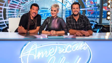 "ABC's ""American Idol"" judges Lionel Richie, Katy Perry and Luke Bryan. (Eric Liebowitz/ABC via Getty Images)"