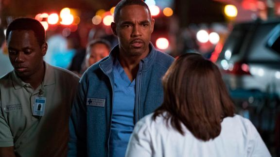 """""""Grey's Anatomy"""" doctor Ben Warren (Jason George) segues into life as a firefighter in this still unnamed spin-off that also stars Jaina Lee Ortiz, Miguel Sandoval, and Grey Damon. The show, much like its mothership, will chronicle the day-to-day happenings at a firehouse in Seattle, complete with romantic entanglements, high drama and hopefully a punny title."""