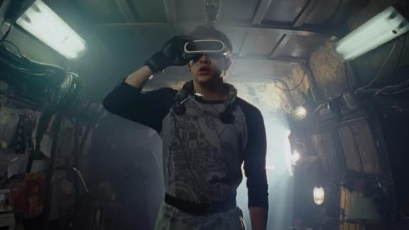 Director Steven Spielberg goes big in this sci-fi action adventure about a high-stakes virtual reality-set contest in a universe filled with as much mystery as danger. We're ready for it.