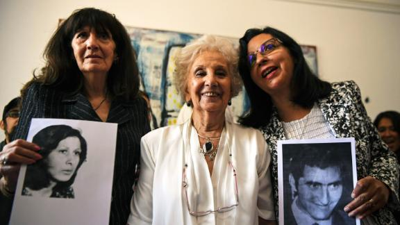 The Argentine Grandmothers of Plaza de Mayo has been reuniting family members for years