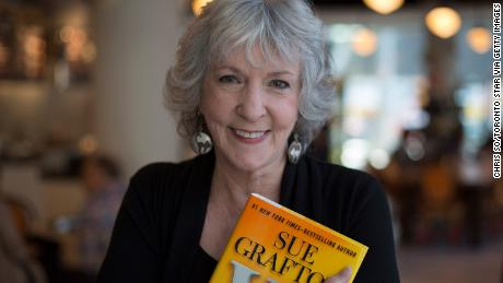 "Author Sue Grafton in 2013 with her 23rd mystery novel, ""W Is for Wasted."""
