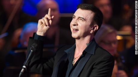 Marc Almond performs at the Royal Festival Hall in London in 2013.