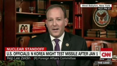 Zeldin on NK: Conventional & unconventional options on table