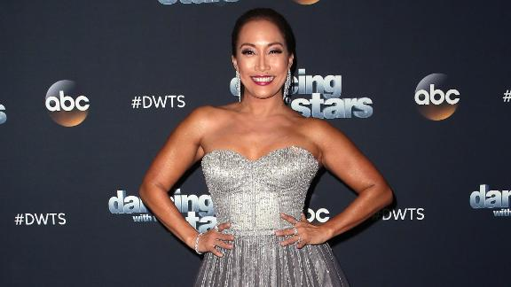 """""""Dancing With the Stars"""" judge Carrie Ann Inaba cut a rug on January 5 in honor of her special day."""