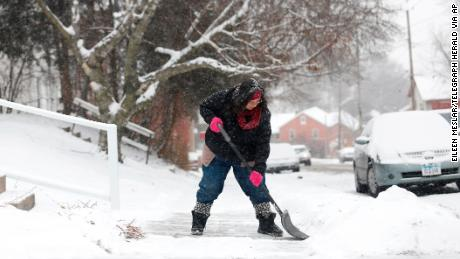 New Year's Eve brings record cold for much of US