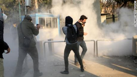 Lookback: A week of protests in Iran
