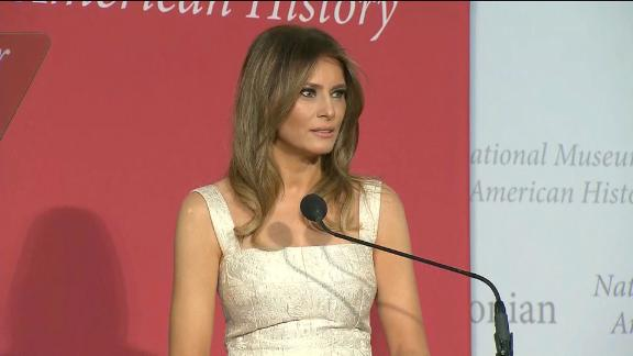 Package on Melania Trump's first year as First Lady.
