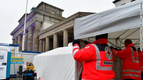 Red Cross sets up 'women's safety area' in Berlin for NYE