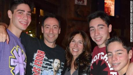 Bruce and Irene Steinberg, and their sons Zachary, William and Matthew, were killed in the crash.