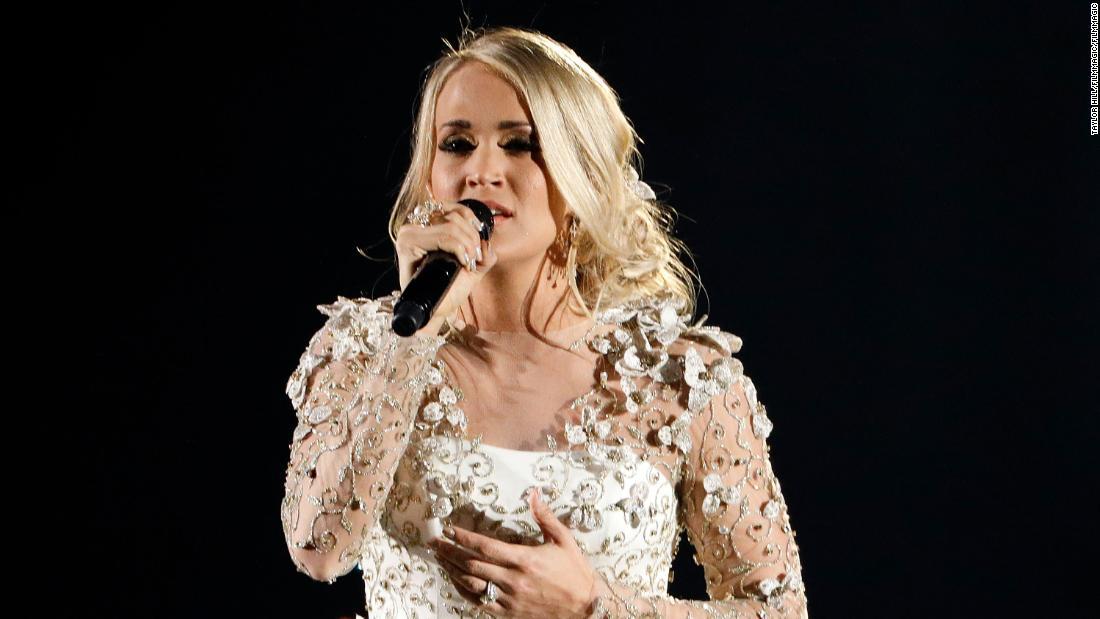 Carrie Underwood Injury