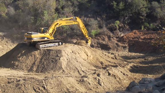 Officials and residents are concerned about the possibility of mudslides.